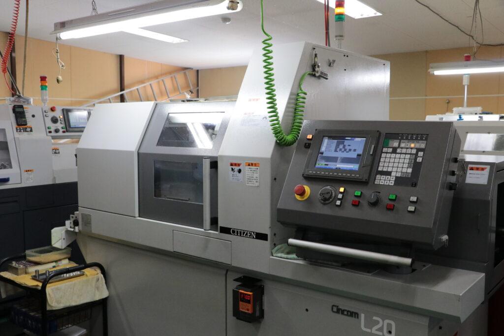 主軸台移動型CNC自動旋盤 L20IX